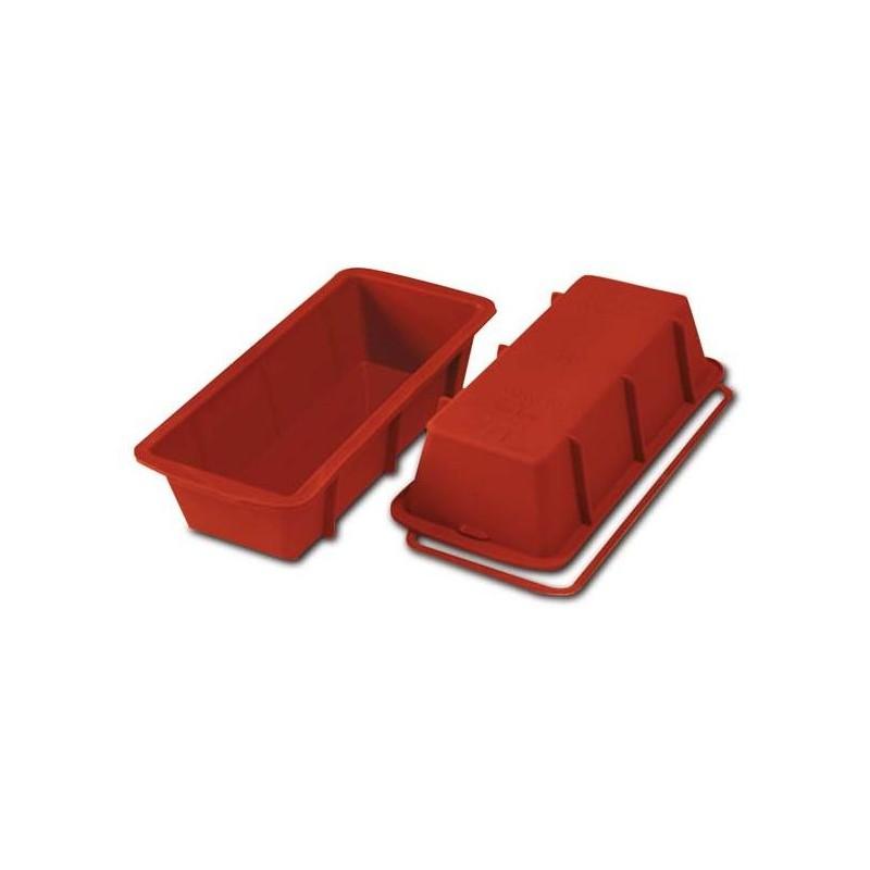 Silikoninė kepimo forma, 260x100/h70mm, pailga, PLUM CAKE SIL-SFT330