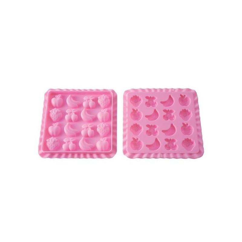 Formelė guminukams gaminti  Silikomart Easy Candy Tutti Fruti SIL-EASYCANDY01, 69,2 ml
