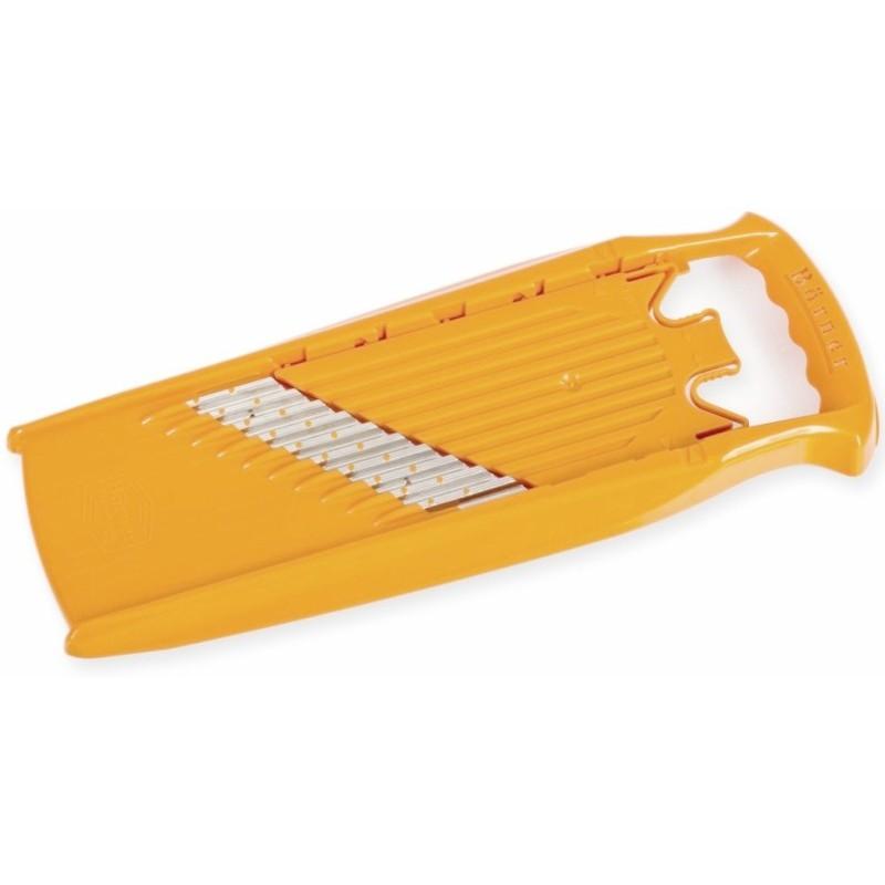 Pjaustyklė-tarka Borner Welle Waffel Powerline E22009/52040 pjaustymui banguotais griežinėliais, oranžinė