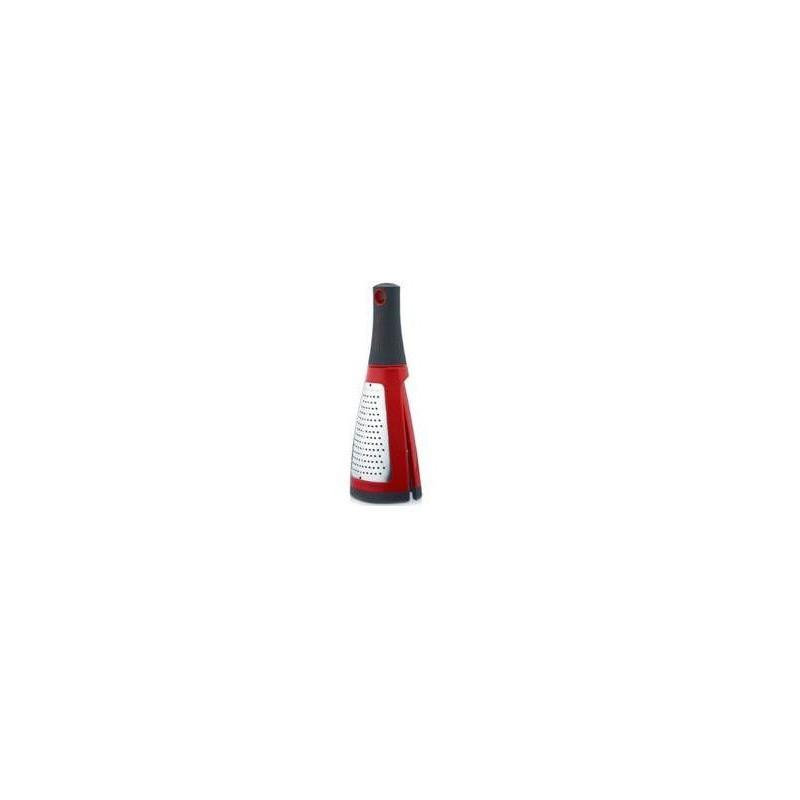 Dvipusė tarka Microplane Specialty Twist N Grate 2-in-1 raudona, susideda MIC34104