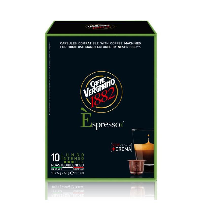 Kavos kapsulės Vergnano Espresso Lungo Intenso