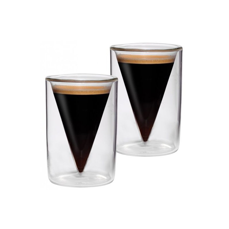 Termo stiklinės BEDIDA BDBES2070T 70 ml, 2 vnt.