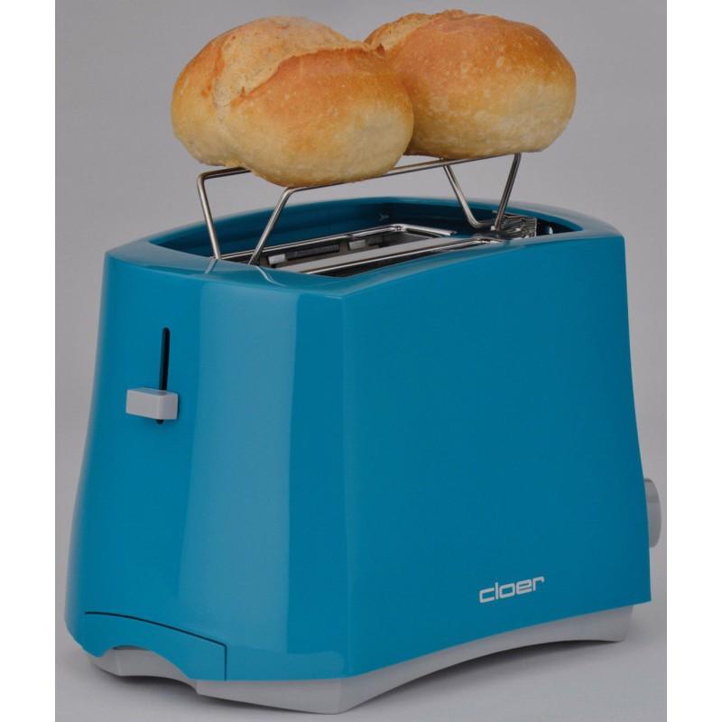 Skrudintuvas-tosteris Cloer CLO3317-3, 825 W, mėlynas