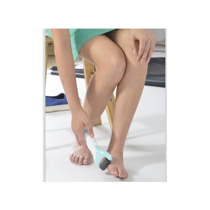 Elektrinis pėdų šveitiklis MRY Portable Pedicure Foot File Blue MIR-806, mėlyna