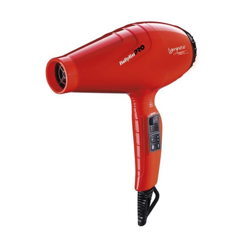 Profesionalus plaukų džiovintuvas BaByliss PRO Luminoso Arancio BAB6350IOE su jonų technologija, 2000 W
