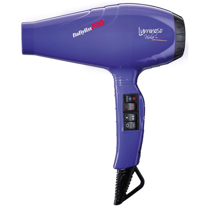 Profesionalus plaukų džiovintuvas BaByliss PRO Luminoso Viola BAB6350IPE su jonų technologija