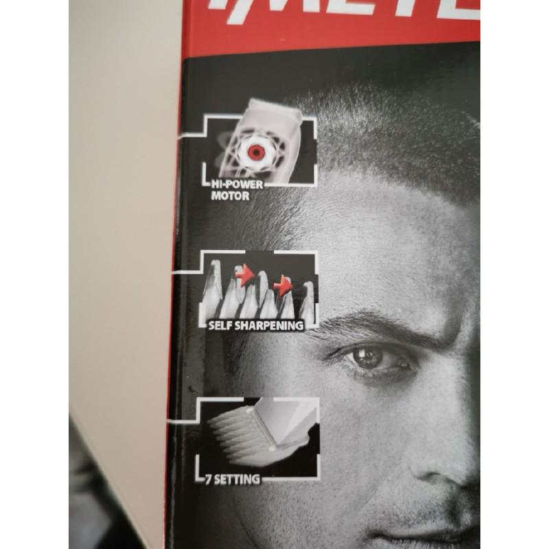 Įkraunama plaukų kirpimo mašinėlė Imetec HC4-100 su savaime pasigalandančiais peiliukais
