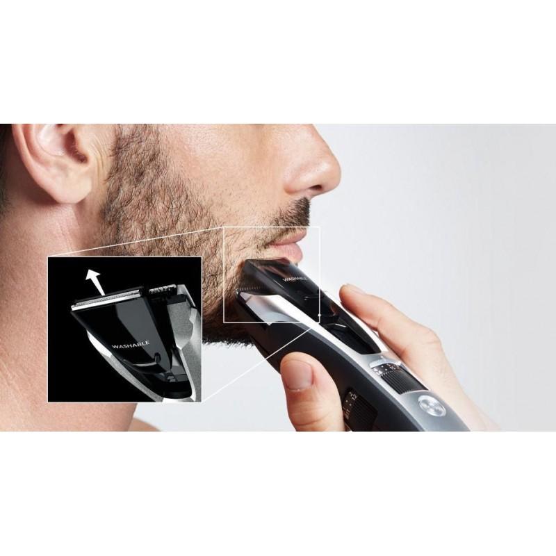 Plaukų kirpimo- kantavimo mašinėlė Panasonic ERGB80S503,  įkraunama