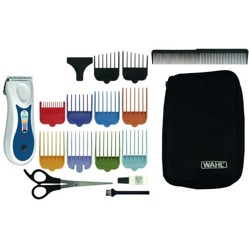 Įkraunama plaukų kirpimo mašinėlė Wahl Home ColorPro Wet or Dry Hair Clipper 1461-0471