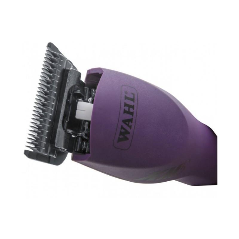 Profesionali plaukų kirpimo mašinėlė gyvūnams WAHL PRO KM5 1260-0470, violetinės spalvos, 100-240V