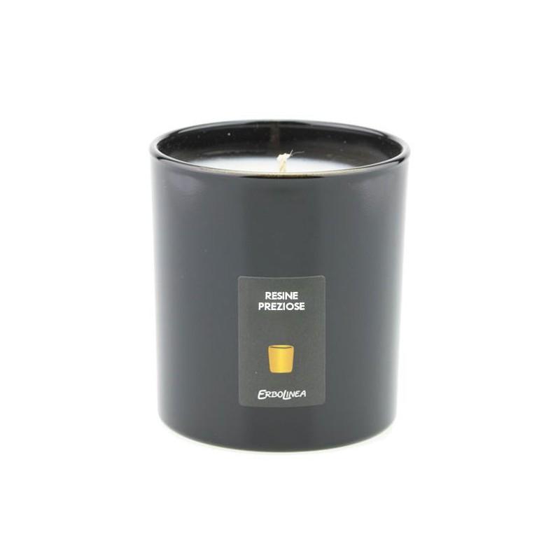 Aromatinė žvakė Erbolinea Candela In Vetro Resine Preziose ERBCANRES, 150 ml