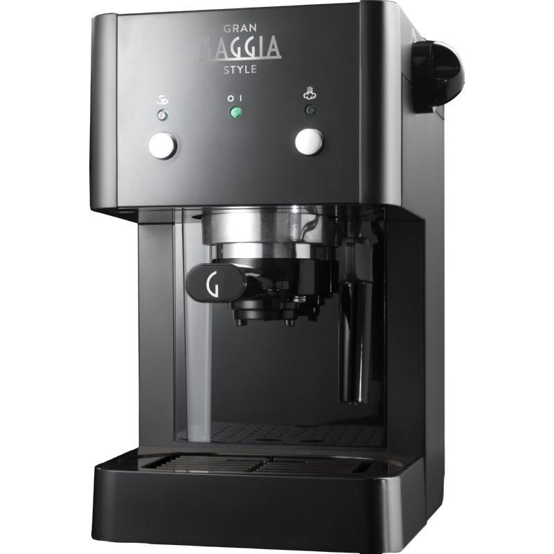 Rankinis kavos aparatas GranGaggia Style RI8423/11,  juodas