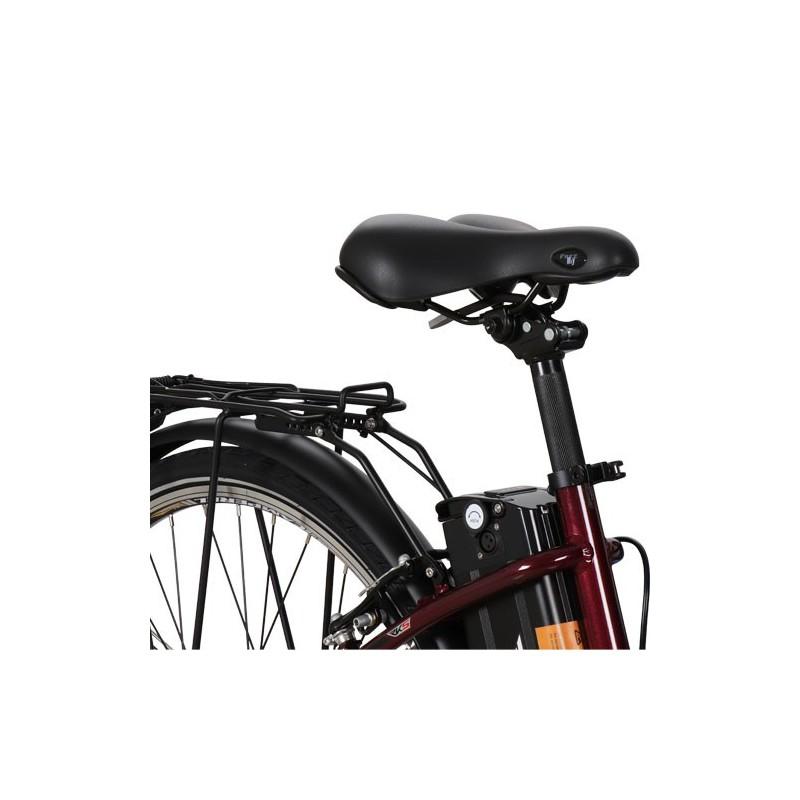 Elektrinis dviratis RKS MB6 CREAM, 250 W, 10.4 Ah