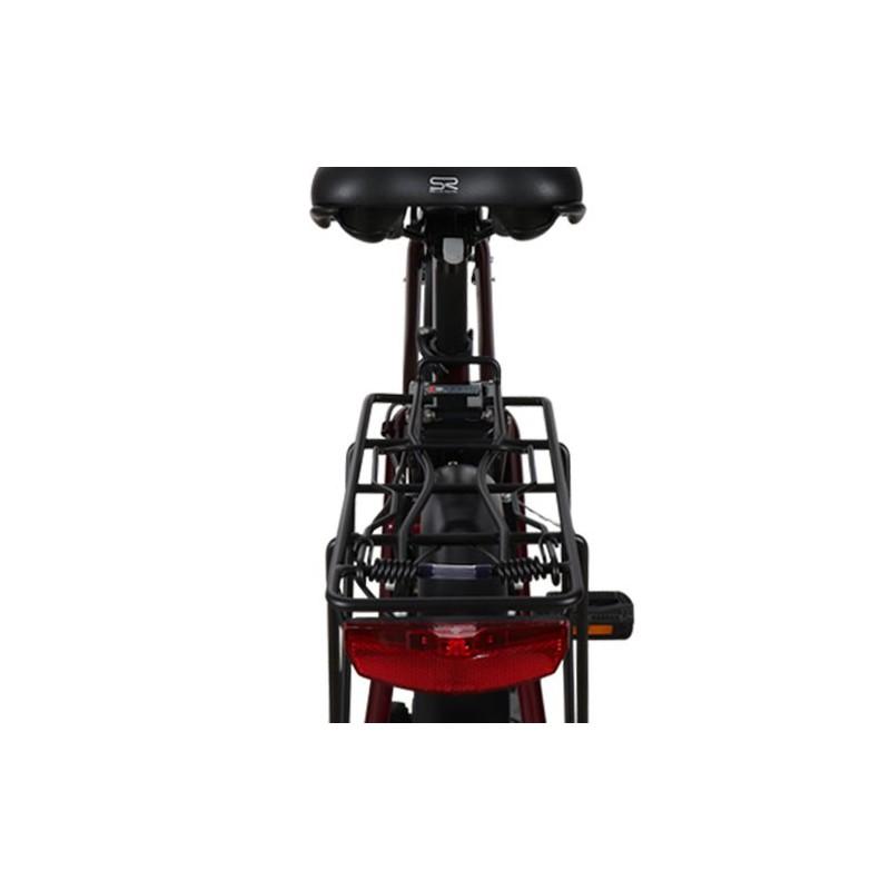 Elektrinis dviratis RKS MB6 RED, 250 W, 10.4 Ah, raudonas