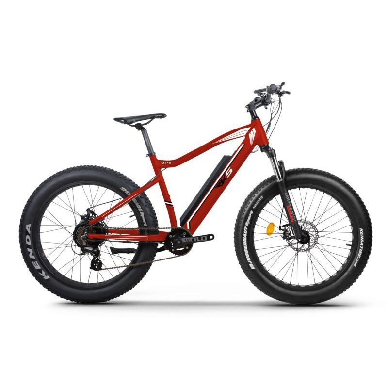 Elektrinis dviratis RKS MT8 RED, 250 W, 10.4 Ah, raudonas
