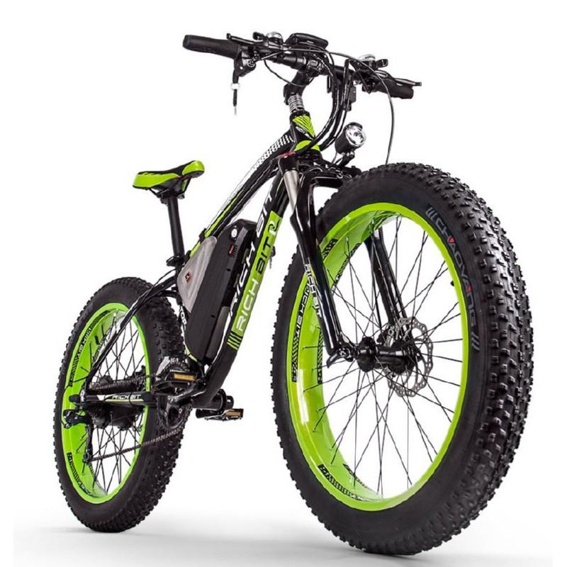 Elektrinis dviratis Rich Bit,1000 W, 48V, LCD display, TOP022GR
