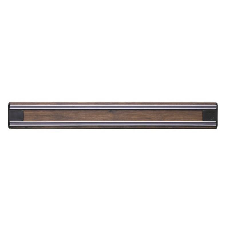 Magnetinis peilių laikiklis Bisbell Bisichef Walnut BISB45W35, riešutmedžio, 35 cm