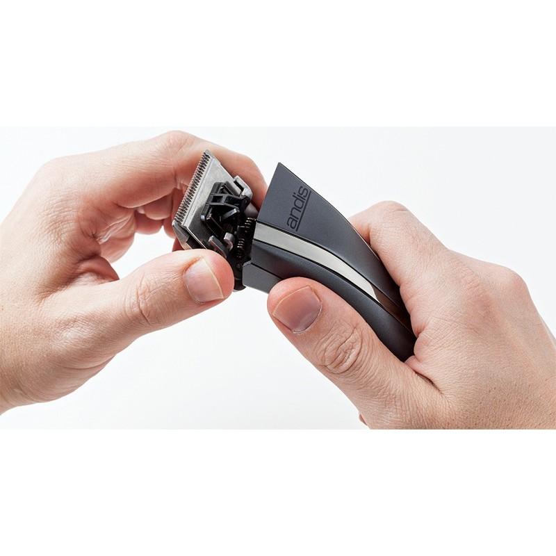 Įkraunama plaukų kirpimo-kantavimo mašinėlė Andis PRO RACR i120 60250