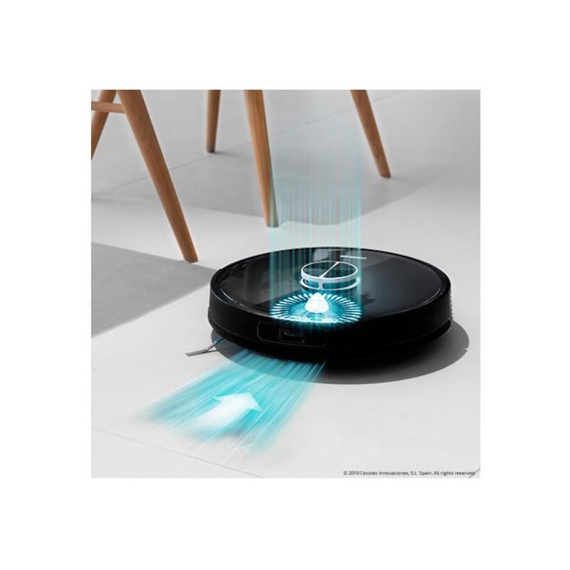 Plaunantis robotas siurblys Cecotec Conga 4090, 05423, juodas