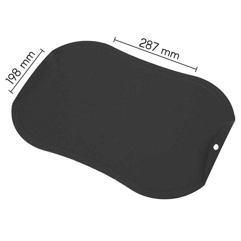 Nesibraižanti pjaustymo lentelė Zyle ZY143CBDG, maža, pilka
