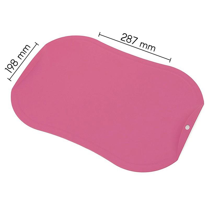 Nesibraižanti pjaustymo lentelė Zyle ZY143CBPN, maža, rožinė