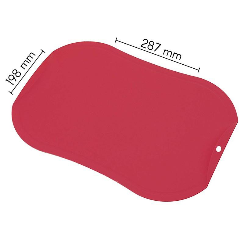 Nesibraižanti pjaustymo lentelė Zyle ZY143CBRD, maža, raudona