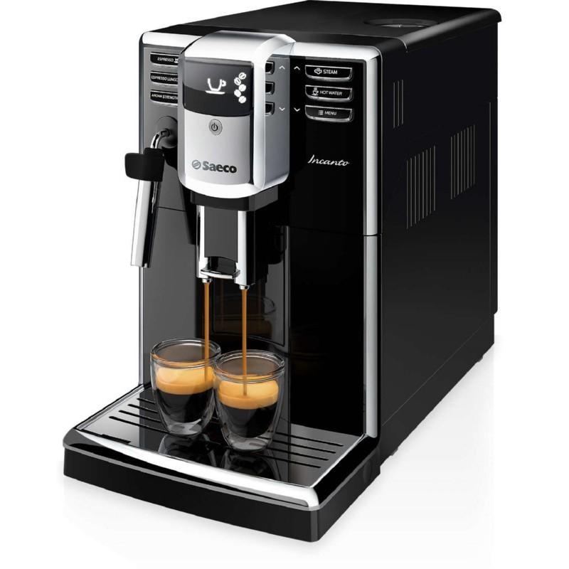 Visiškai automatinis kavos aparatas Philips Saeco Incanto HD8911/09, juodas
