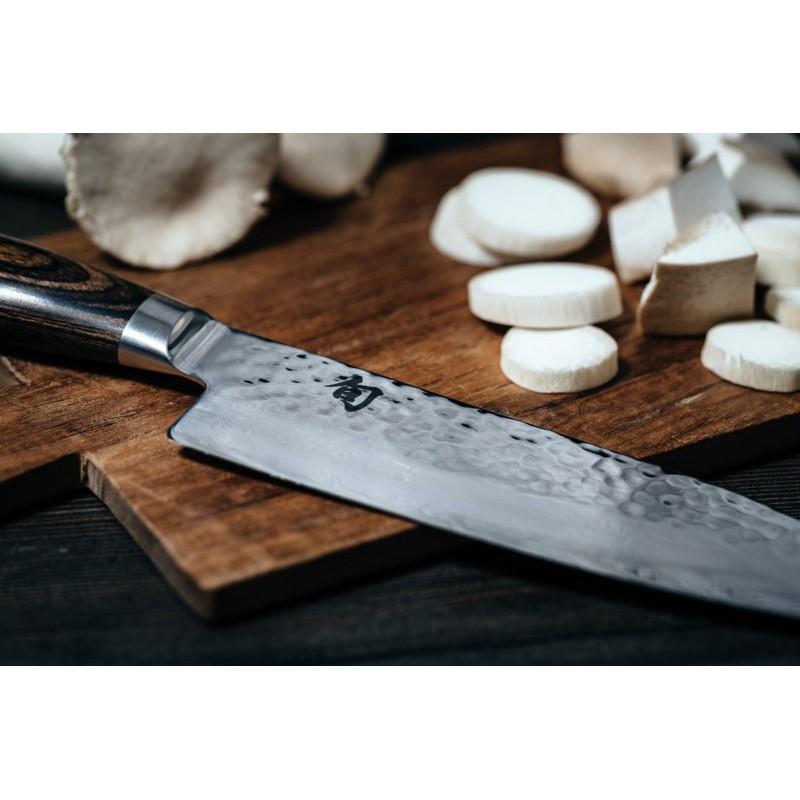 Damasko plieno peilis KAI SHUN PREMIER  TDM-1702  peilis 18 cm ašmenys