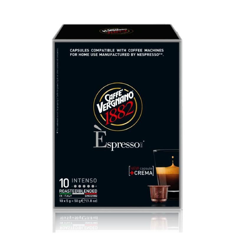 Kavos kapsulės Vergnano Espresso Intenso