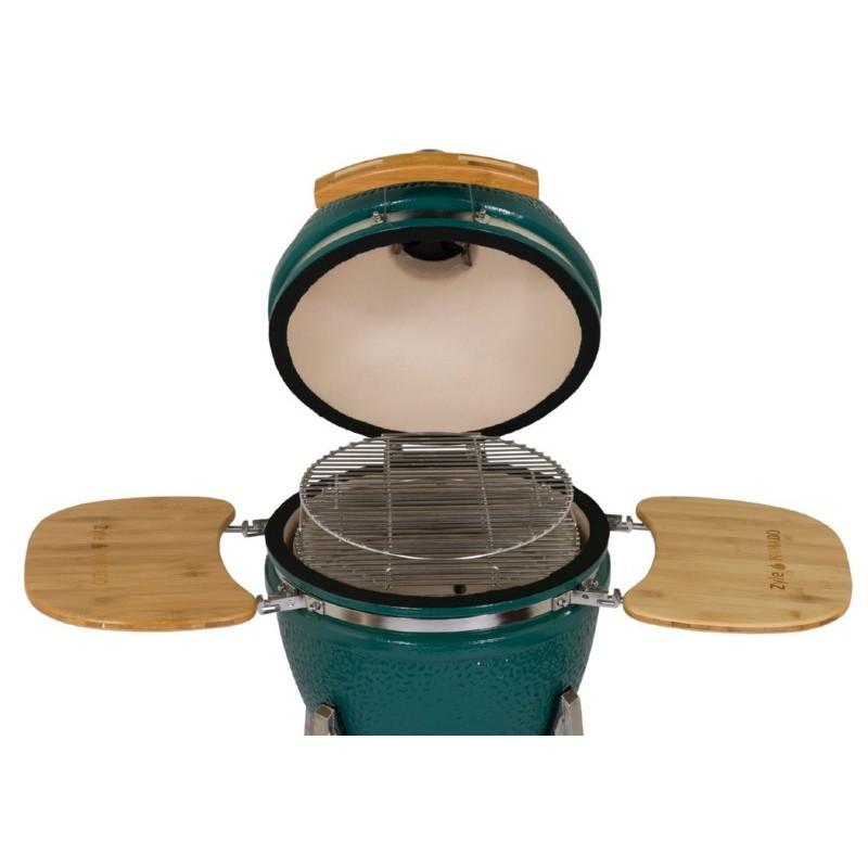 Kamado grilis ZYLE, žalias, 48 cm, ZY18LGRBBQ