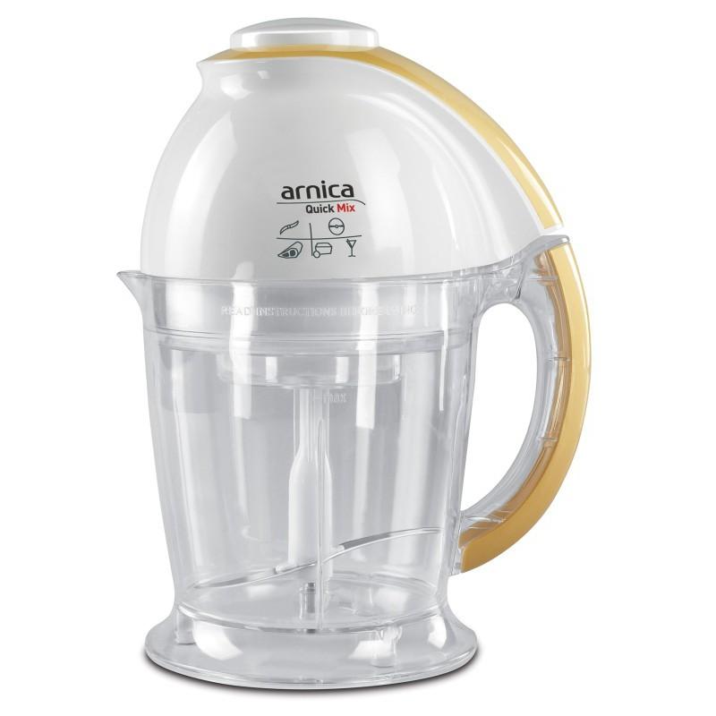 Maisto smulkintuvas-kombainas Arnica Quick Mix, 1 litro, 500 W