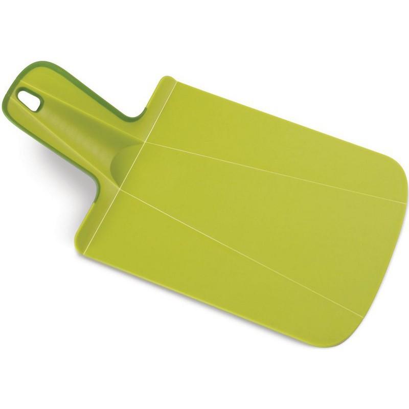 Pjaustymo lentelė Chop2Pot Plus Mini, žalia spalva, 31,5x17x0,4 cm, Joseph Joseph, J60051