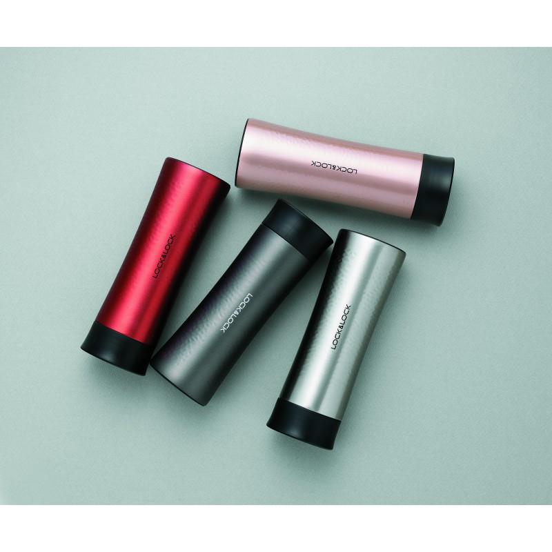 Termo puodelis Diamond tumbler, Lock&Lock, LHC4116R, 300ml, raudonos spalvos