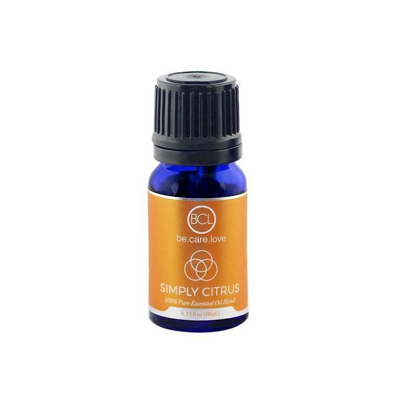 Eterinis aliejus BCL Be Care Love Simply Citrus 100 % Pure Essential Oil BCLSPA63004, citrusų, 10 ml