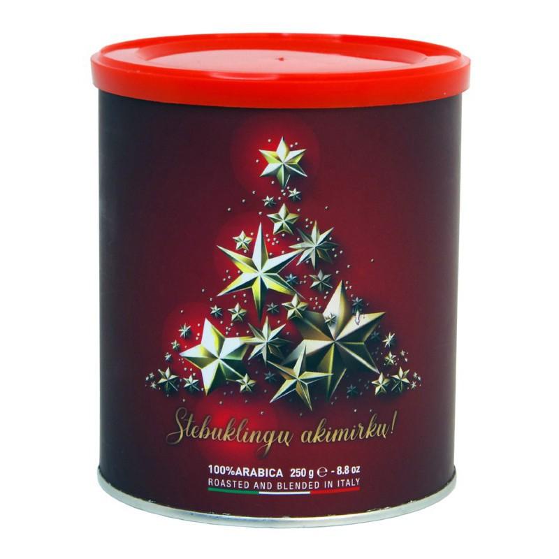 Malta kava Vergnano Moka raudona, 250 g. skirta plikinimui MDkaledrd