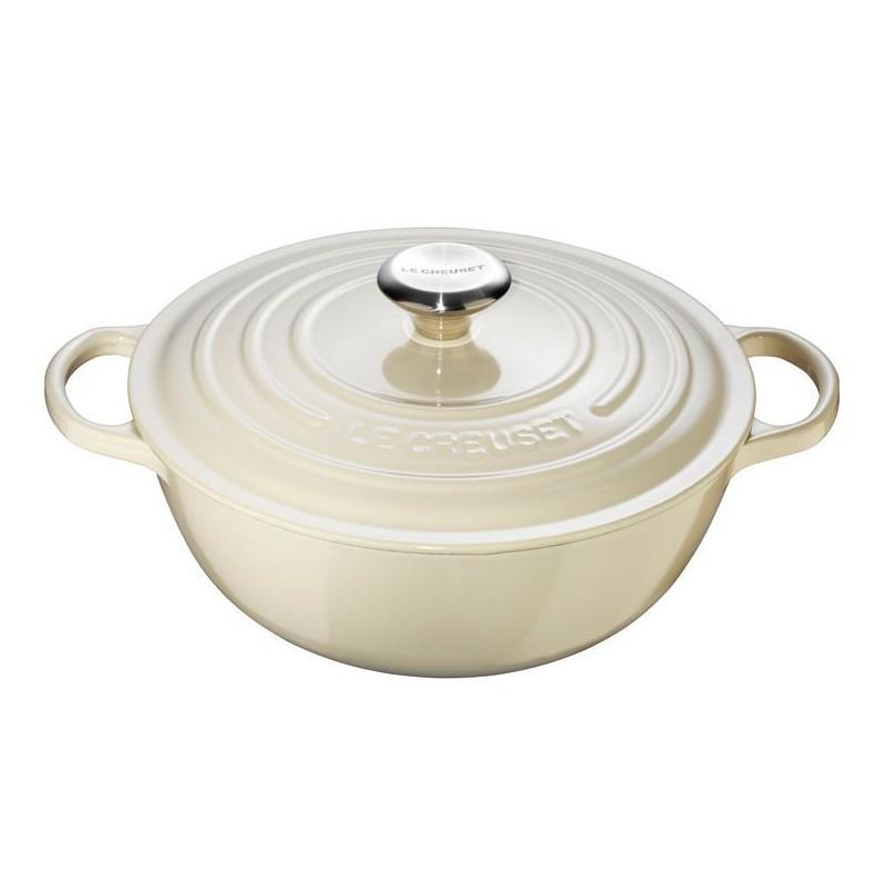 Ovalus kepimo indas 32 cm, 7 l., kreminis Le Creuset LC21114324810430