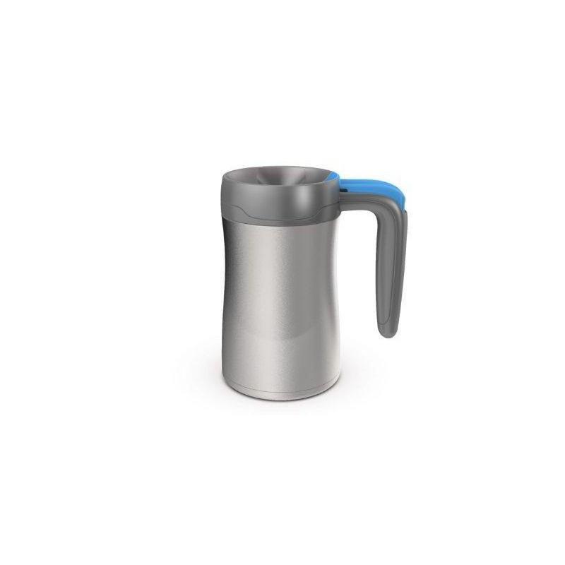 Kelioninis termo puodelis Contigo Fulton, CON1000-0142, 360 ml, metalo-mėlyna