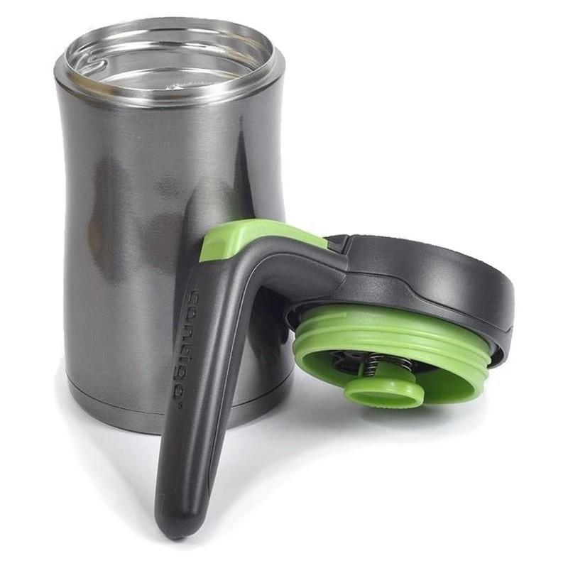 Kelioninis termo puodelis Contigo Fulton CON1000-0143, 360 ml, pilkas