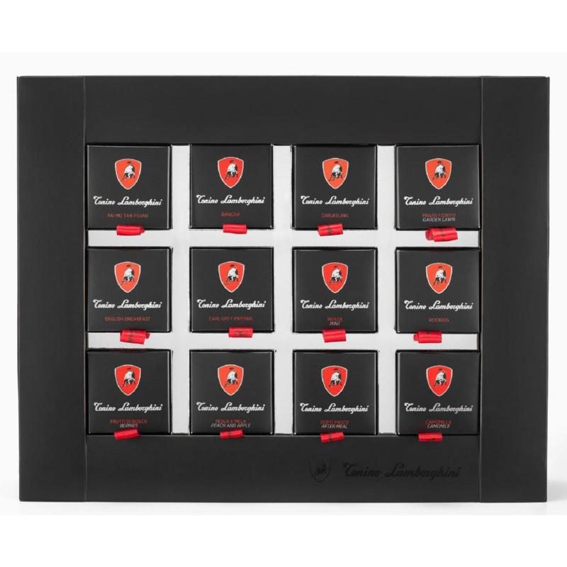 Arbatų rinkinys Lamborghini Tea selection box 200, 60 vnt.