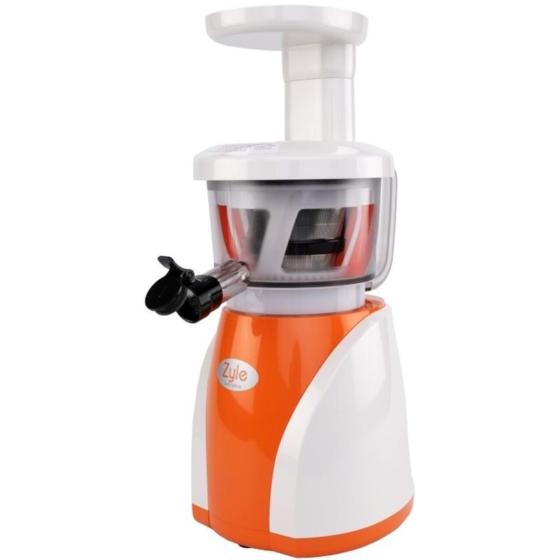 Lėtaeigė sulčiaspaudė Zyle COHD8801OW, balta-oranžinė, 200 W