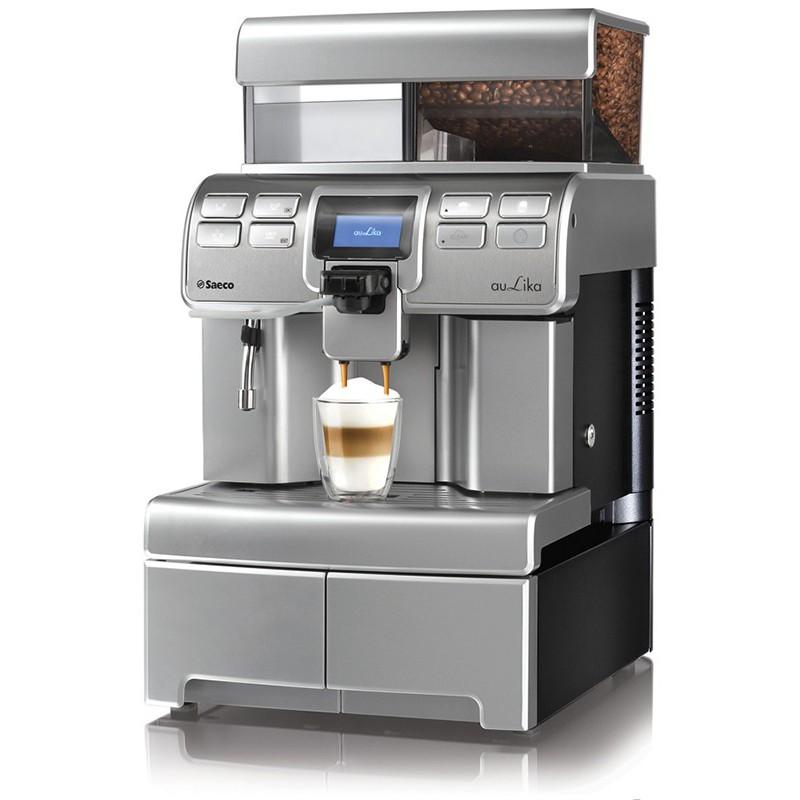 Automatinis kavos aparatas Saeco Aulika Top HSC, sidabrinis