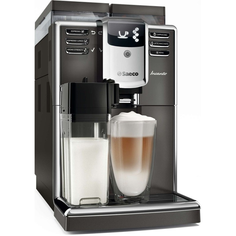 Visiškai automatinis kavos aparatas Philips Saeco Incanto HD8919/59, juodas