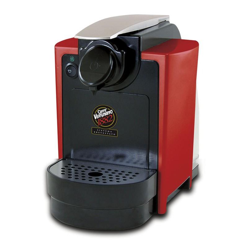 Kapsulinis kavos aparatas Vergnano Capitani, raudonas