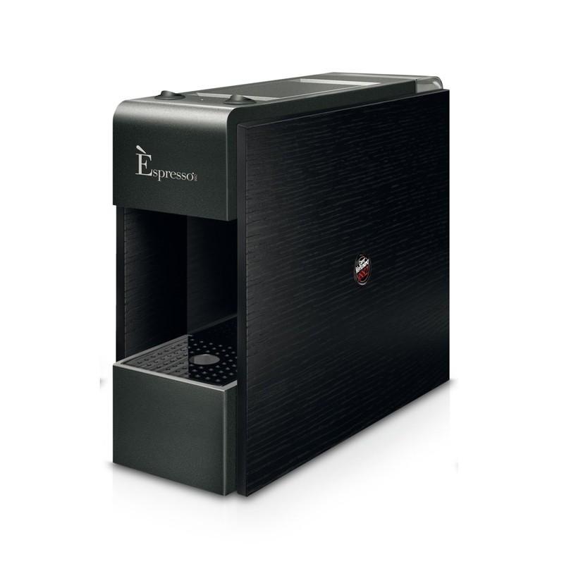 Kapsulinis kavos aparatas Vergnano Tre Espresso, juodas