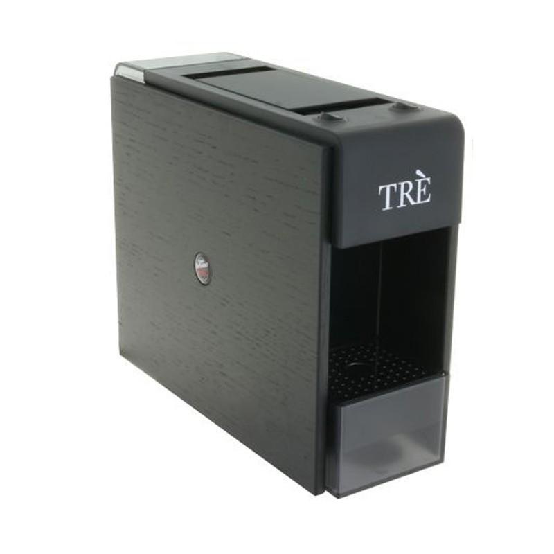 Kapsulinis kavos aparatas Vergnano Tre Fap, juodas