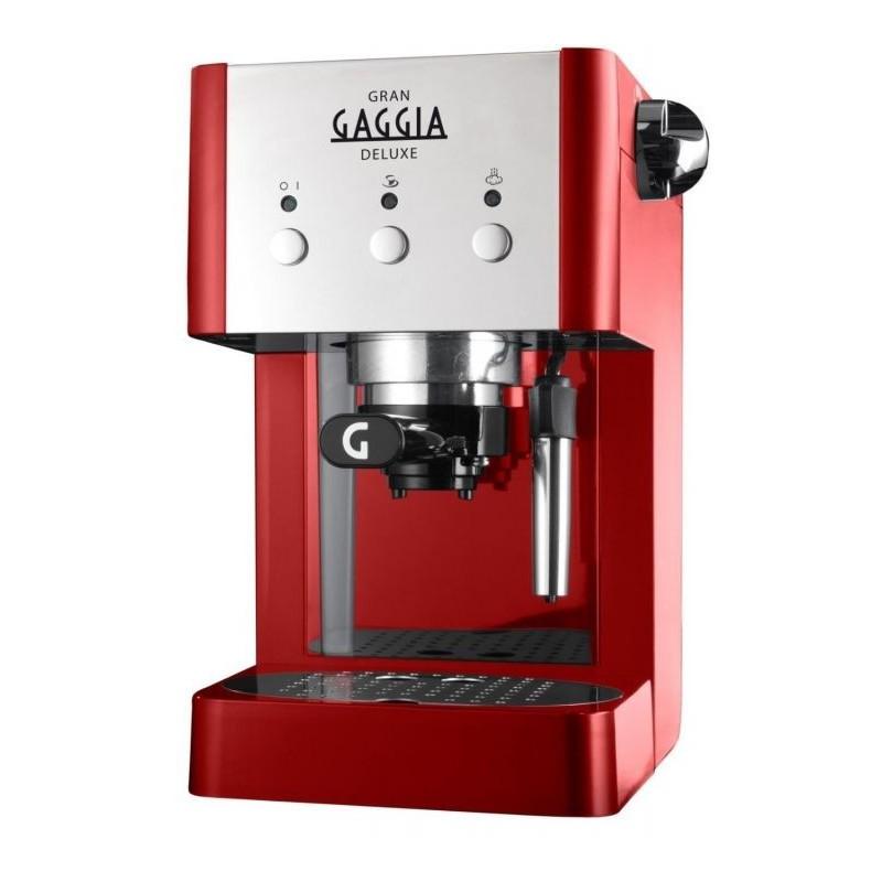 Kavos aparatas Gran Gaggia Deluxe RI8425/22 raudonas