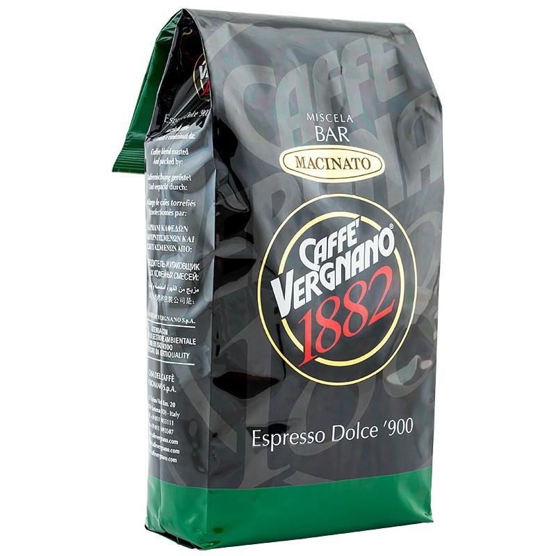 Malta kava Vergnano Arabica Espresso, 1 kg, skirta espresso kavos aparatams (100% Arabica Ground Espresso Grinding)