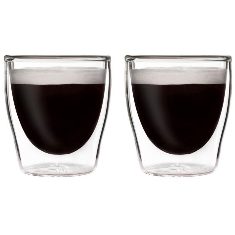 Termo stiklinės BEDIDA BDSAY2080 80 ml, 2 vnt.