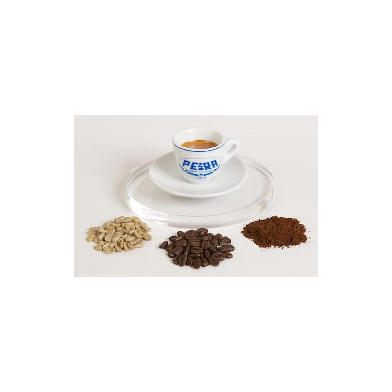 Keramikinis puodelis kavai Pera Puod_Cap, 60 ml, su lėkštute