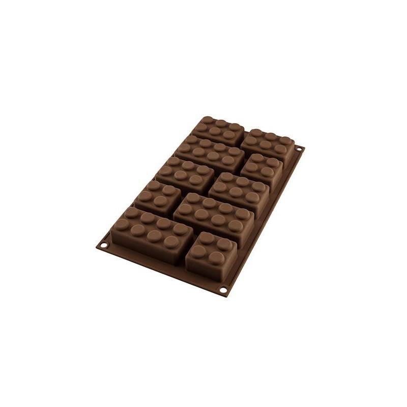 Silikoninė kepimo forma, Lego SIL-CHOCOBLOCK